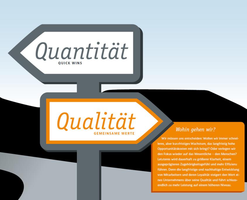 Quantitaet + Qualitaet