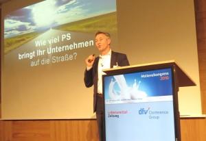 Dr. Thorsten Bosch Molkereikongress
