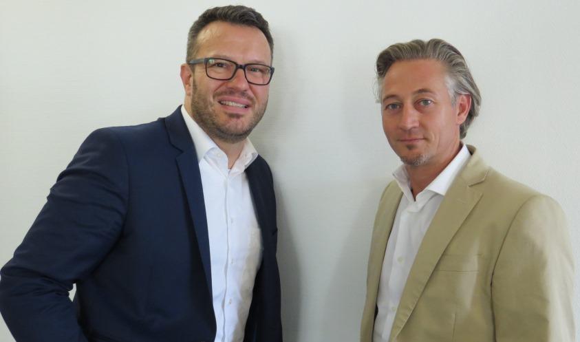Thomas Esche und Dr. Thorsten Bosch (von links)